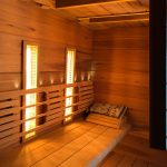 Infrarotheizung in der Sauna