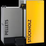 Stückholzkessel mit Pelletsbrenner - ETA SH-P mit TWIN 20 bis 50 kW