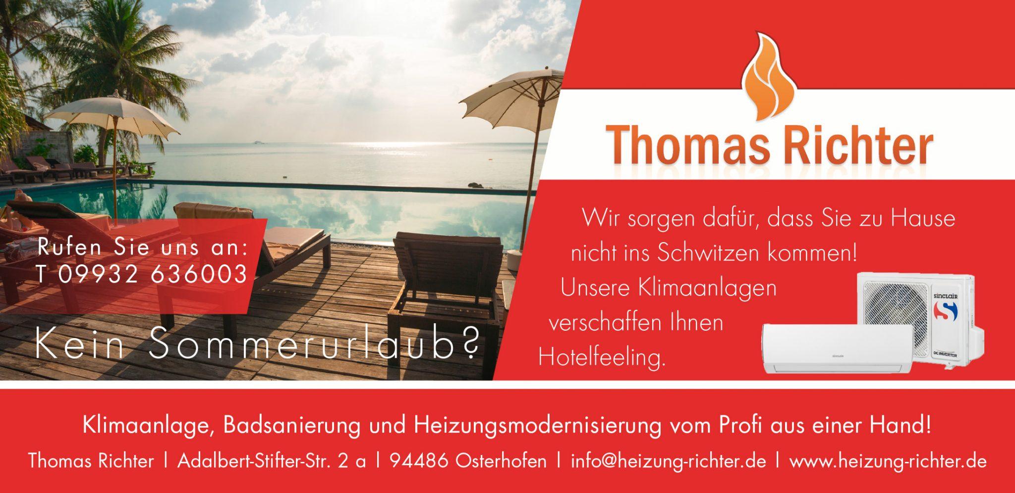 Klimaanlagen verschaffen Hotelfeeling daheim - Einbau vom Profi Deggendorf