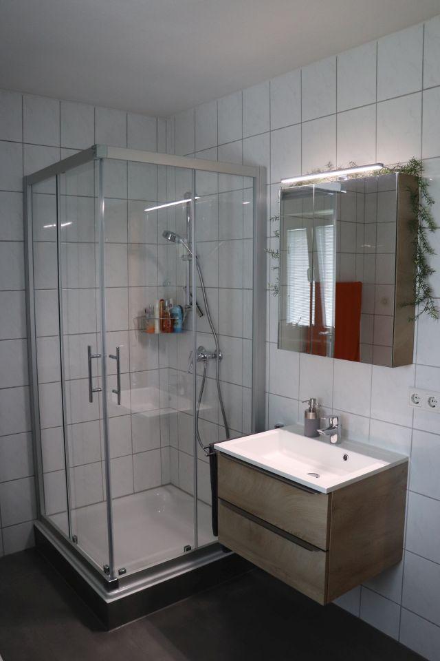 Badumbau Plattling Dusche Waschtisch
